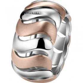 Anello in acciaio e pvd oro rosa BREIL TJ1444