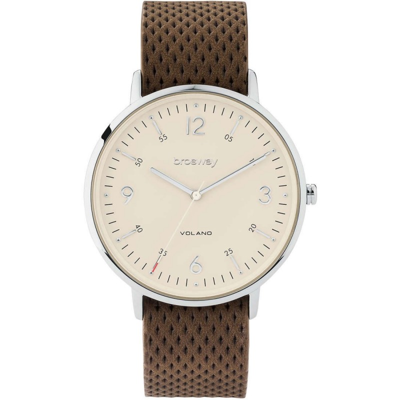 Time Clock Seulement des hommes Brosway WVO02 brun