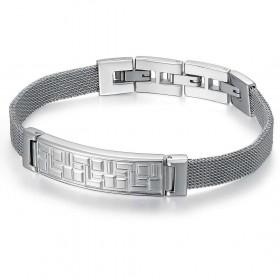 Bracelet with man BROSWAY BED13 steel plant