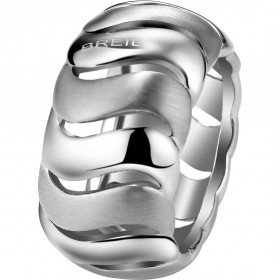 BREIL SATIN SATIN STEEL RING TJ1441