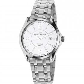 Orologio da polso uomo solo tempo Philip Watch al quarzo cinturino in acciaio R8253165002