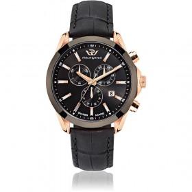 Orologio da polso uomo cronografo Philip Watch conturino nero R8271665005