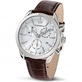 Orologio da polso uomo cronografo Philip Watch quadrante silver R8271995315