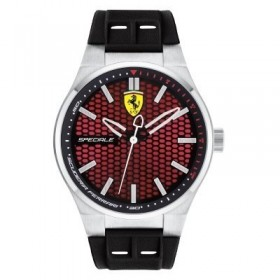 Clocks male FERRARI TEAM with black silicon strap FER0830353