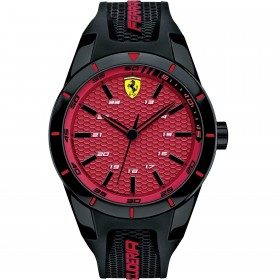 Clocks male FERRARI TEAM with black silicon strap FER0830248