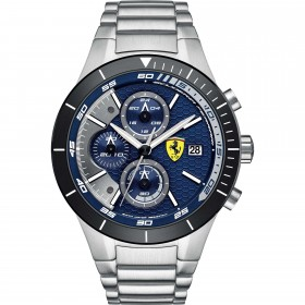 Clocks male FERRARI TEAM with steel strap FER0830270 CRONOGRAFO