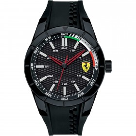 Clocks male FERRARI TEAM with strap in black FER0830301 multifunction silicone