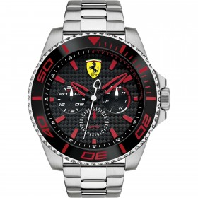 Clocks male FERRARI TEAM with FER0830311 multifunction steel bracelet