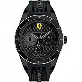 Clocks male FERRARI TEAM with black silicon strap FER830259
