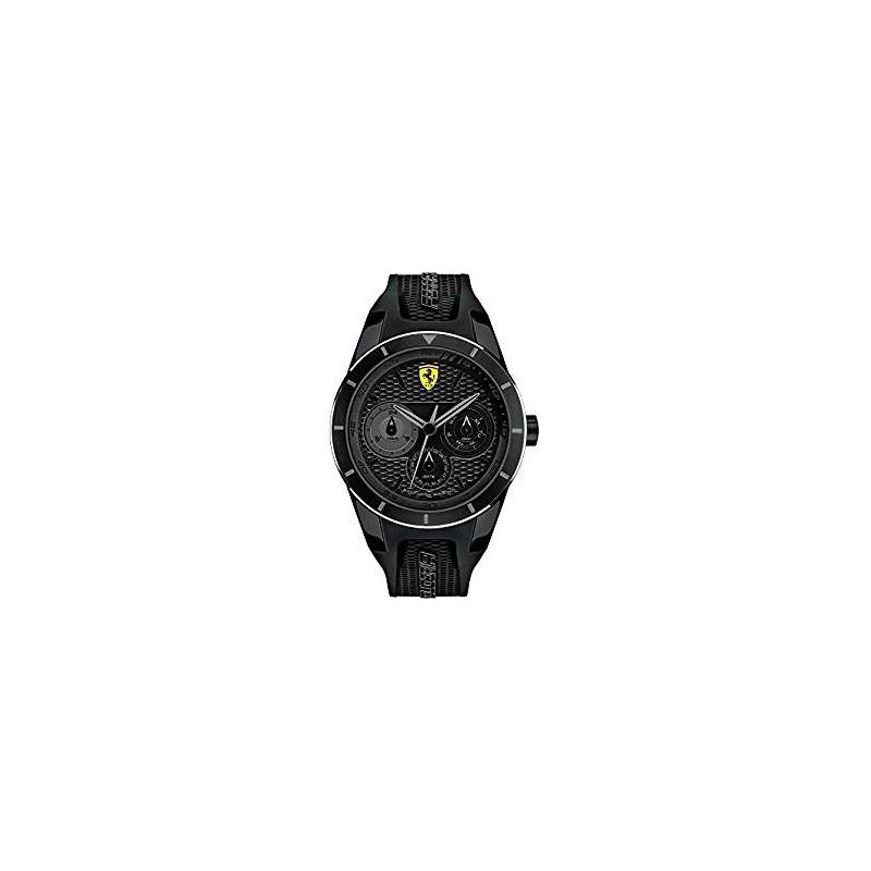 Clocks male FERRARI TEAM with black silicon strap FER830259