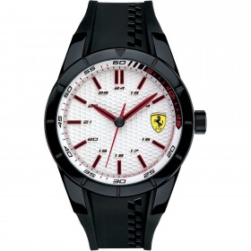 Clocks male FERRARI TEAM with black silicon strap FER0830300