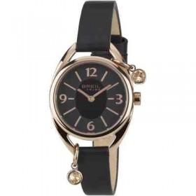 Just time watch woman in black steel strap Breil EW0284