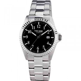 Just time watch in stainless steel with black dial BREIL EW0191
