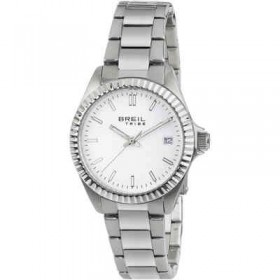 Orologio donna solo tempo in acciaio quadrante bianco BREIL EW0218