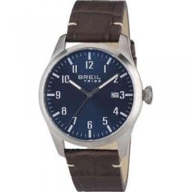 Orologio solo tempo in acciaio con cinturino in pelle BREIL EW0234