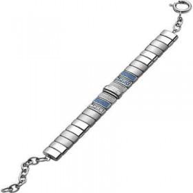Bracciale in acciaio con cristalli Swarovski BREIL TJ1434