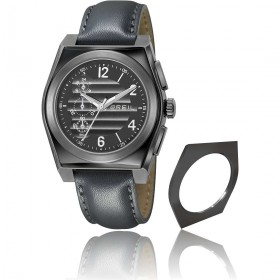Orologio cronografo al quarzo in acciaio BREIL TW0974