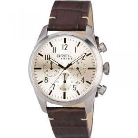 Orologio cronografo con quadrante bianco BREIL EW0228
