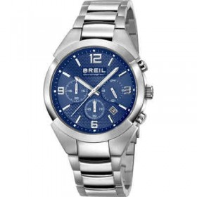 Orologio cronografo uomo in acciao e quadrante blue BREIL TW1328
