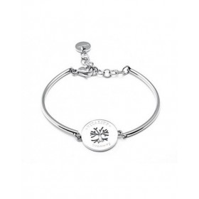 Hard Women's stainless steel bracelet with central TREE OF LIFE BROSWAY BHK29