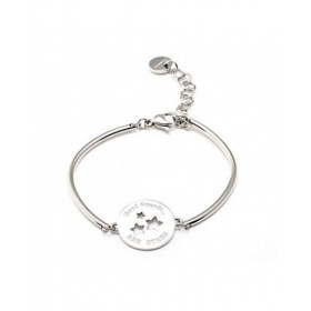 Hard Women's stainless steel bracelet with central STARS BROSWAY BHK32
