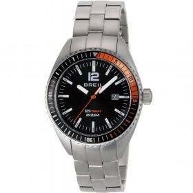 Orologio solo tempo Uomo cassa in acciaio e quadrante nero BREIL TW1629