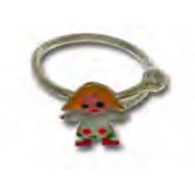Anello per bambina in argento con bambina colorata UNOAERRE 439473