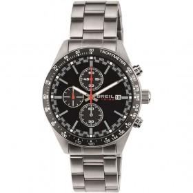 BREIL Men's Chronograph Watch with Black Dial EW0321