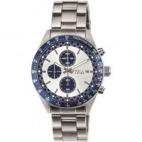 Orologio Cronografo uomo BREIL in acciaio con quadrante bianco EW0324