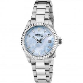 Orologio solo tempo donna in acciaio quadrante Azzurro BREIL EW0238