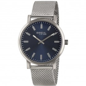 Women's watch only steel watch strap in milanaise and blue dial BREIL EW0267