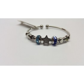 Bangle bracelet rigid woman with charms BROSWAY BTJMS629