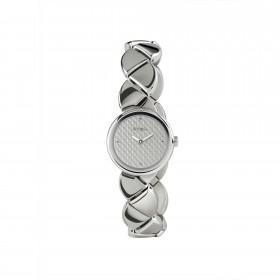 Orologio da polso bracciale donna in acciaio con quadrante grigio scuro BREIL TW1477
