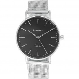 Watch only time woman in steel and milanise strap BROSWAY WVI05