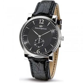 Orologio solo tempo uomo cassa in acciaio e cinturino in pelle PHILIP WATCH R8251193025