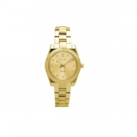 Woman's watch in steel and gold pvd with zircons BROSWAY WDC07