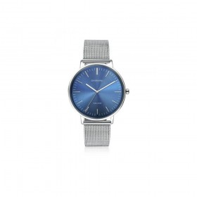 Steel men's watch with blue dial BROSWAY WVO11