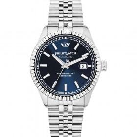 Orologio uomo in acciaio e quadrante blu PHILIP WATCH R8223597011