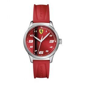 Women's watch in steel and silicone SCUDERIA FERRARI FER0810014