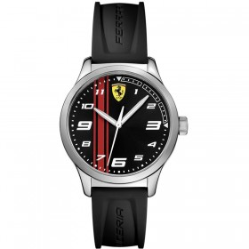 Women's watch in steel and silicone SCUDERIA FERRARI FER0810015