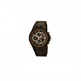 GREENTIME ZW070A man only time wooden clock