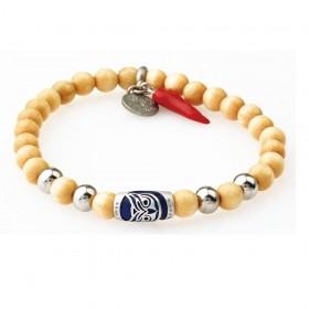 GREENTIME ZWB213D men's wooden bracelet