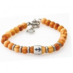 GREENTIME ZWB214C men's wooden bracelet