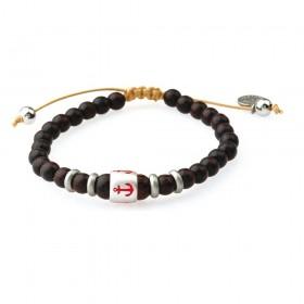 GREENTIME ZWB216A men's wooden bracelet
