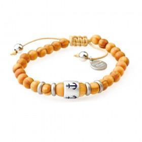 GREENTIME ZWB216B men's wooden bracelet