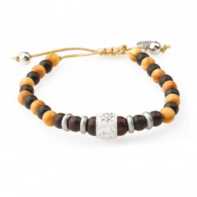 GREENTIME ZWB216C men's wooden bracelet
