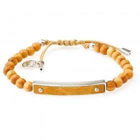 GREENTIME ZWB218A men's wooden bracelet