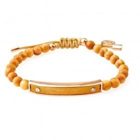 GREENTIME ZWB218C men's wooden bracelet