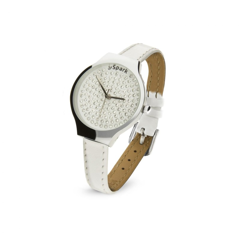 Women's stainless steel watch with Swarovski crystals SPARK ZPX29WC