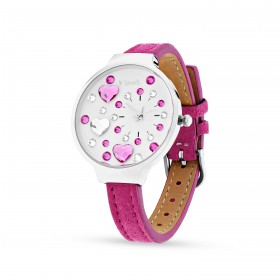 Women's watch in stainless steel and Swarovski crystals SPAEK ZH35FF